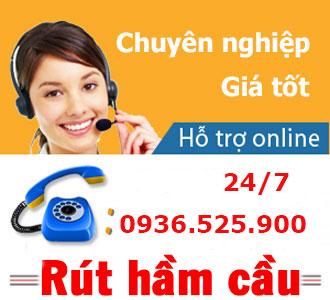 Hút hầm cầu xã Phước Hòa