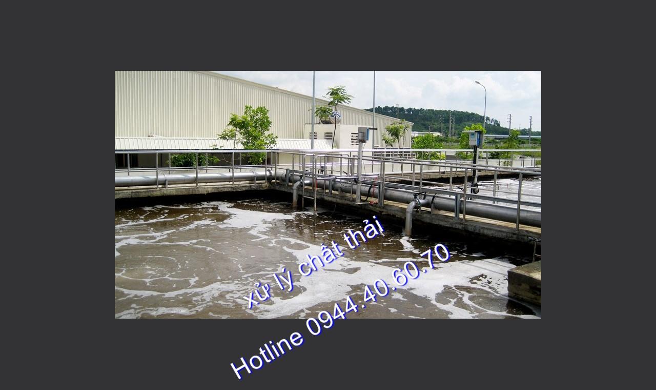 Xử lý nước thải KCN Bình Đường