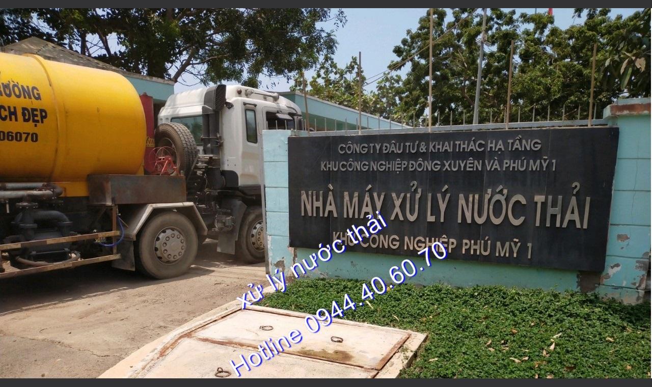 Xử lý nước thải KCN An Tây